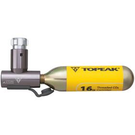 Topeak AirBooster Cykelpumpe grå
